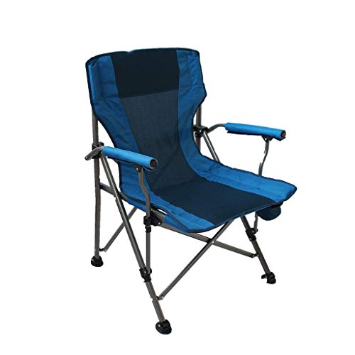 Ultralight Ultra dun opvouwbare outdoor draagbare campingstoel 150 kg viskruk met armleuning mesh tas
