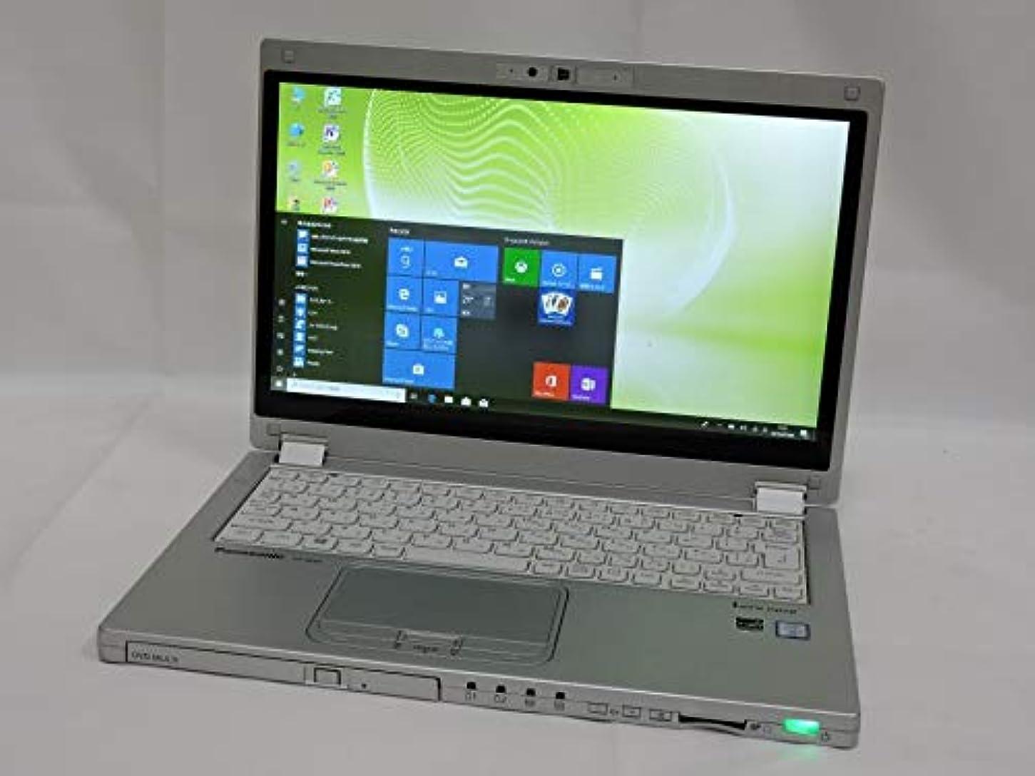 祖先ペルメル選出する即日発送可 1110時間 良品 タッチパネル 12.5型 松下 CF-MX5PFBVS/Win10 64 Pro/六世代Corei5/4G/SSD 128G/無線/Bluetooth/カメラ/1080P/リカバリ領域有/Microsoft Office 2010【中古ノートパソコン 中古パソコン 中古PC office付】