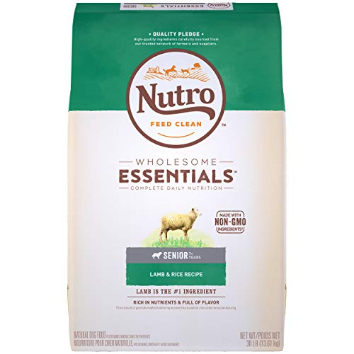 NUTRO WHOLESOME ESSENTIALS Senior Natural Dry...