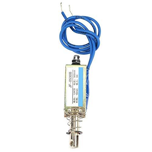 Durch Push-Pull-Gleichstrom-Elektromagnet-Automatisierungssteuerung 6/12 / 24V 300mA 5N Einfahrbereich 10mm(12V)