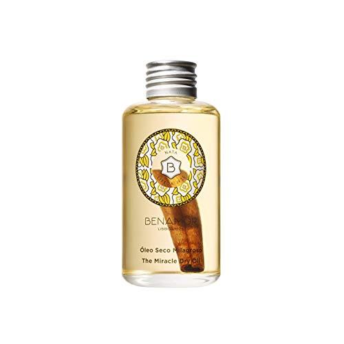 Benamôr - Aceite Seco Milagroso Nata - 99% Ingredientes Naturales - Con Aceite de Argán, Girasol y Almendras Dulces - Cara, Cuerpo, Cabello - Perfume Gourmet - Botella 100ml