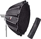 Aputure Light Dome II Softbox for Aputure 120D Mark 2 300D 120D 120T, 35 Inch Deep Octagon Softbox for Aputure 120D Mark 2 Aputure 300D Aputure 120D Aputure 120T and Other Bowen-S Mount Lights