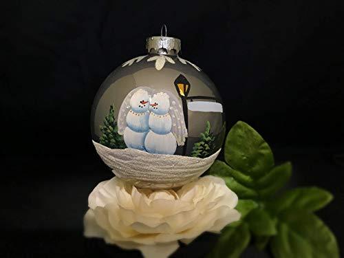 Lesbian Snow Women Ornament