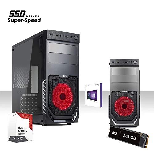 GAMME SSD PC ORDINATEUR DE BUREAU GADING QUAD CORE AMD A8 9600 3.4GHZ/LICENCE WINDOWS 10/625...