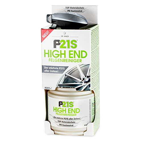 Dr. Wack – P21S HIGH END Felgenreiniger 750 ml I Premium Felgen-Reinigung für alle Felgen I Testsieger I PH hautneutral I Hochwertige Felgenpflege – Made in Germany