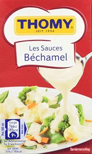 THOMY Les Sauces Béchamel, Combiblock, 2,5 Portionen ,12 x 250 ml (12er Pack)