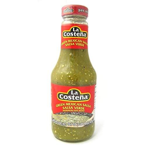 La Costeña Salsa Verde Botella 475 gr