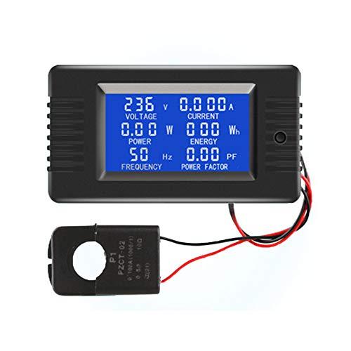 AC Digitalanzeige Power Monitor Meter Voltmeter Amperemeter Frequenzmesser