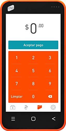 Clip PAYCLIP Terminal para Pago con Tarjeta,autonoma con Internet Integrado SIM incluida 4G,3G,2G y Wi Fi…