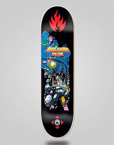 lordofbrands Black Label Monopatín Skate Skateboard Deck Jason Adams Space Junk 8.68