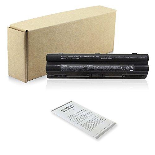 BTMKS 9 Zellen 7800mAh JWPHF R795X Notebook Laptop Akku für Dell XPS 14 15 17 L401X L501X L502X L701X L702X R795X 08PGNG 0R4CN5 312-1123 312-1127 453-10186 J70W7 P11F WHXY3 Batterie