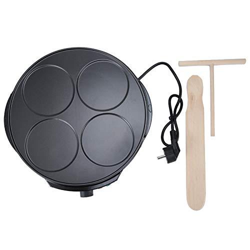 Máquina de crepes eléctrica para hacer crepes, bandeja para hornear eléctrica, accesorio para hornear de herramientas de cocina para el hogar
