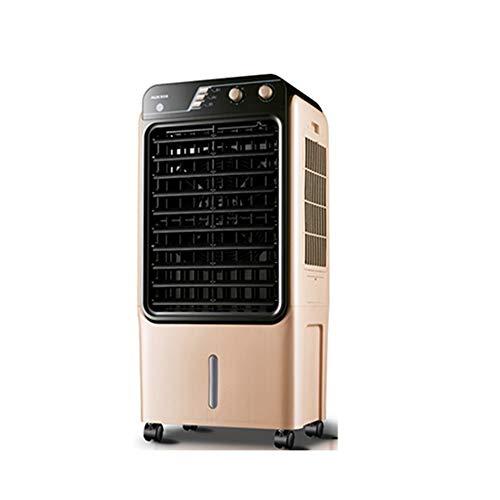 QFFL Climatizador Portátil , Acondicionador de Aire Móvil, Volumen de Aire Grande Refrigerador de Aire Industrial 3 En 1 Ventilador de Aire Acondicionado con Sincronización for la Oficina En C