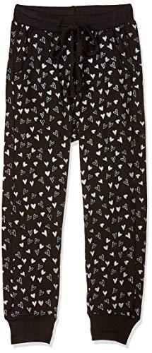 Easybuy Girl's Jogger Loose Pants (WT91RA72GY_BLACK_14Y)