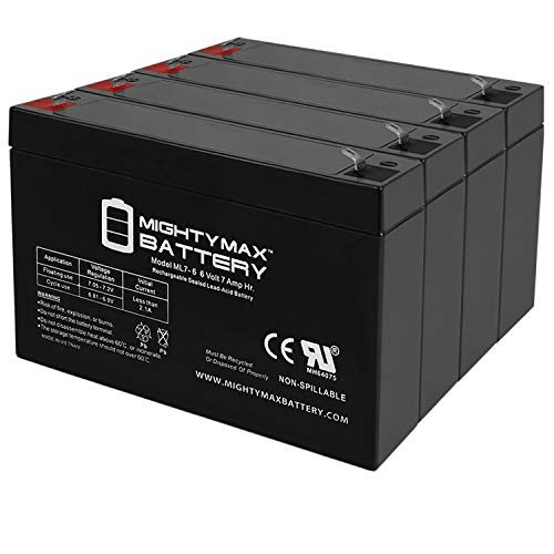 Mighty Max Battery 6V 7Ah SLA Battery Replacement for Keyko KT-670 HRT - 4...