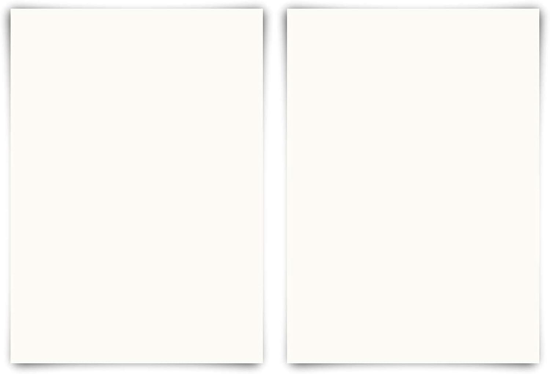 100 Blanko Karten DIN A3 420 x 297mm Naturpapier 300g qm Set Papier wählbar B07KMCKYTL | Passend In Der Farbe