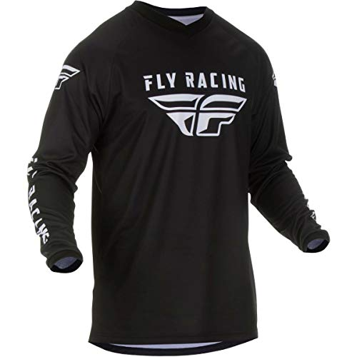 Fly Racing 2020 Universal Jersey (Large) (Black)