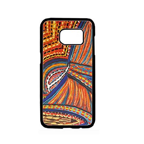 para Niño Compatible para Samsung S7 Cajas del Teléfono Abs Impresión Aztec Delgado