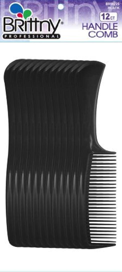 タクト未就学ヒットBrittny Combs - Bulk Handle Black (12 pcs.) [並行輸入品]