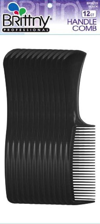 怖いステッチ泣くBrittny Combs - Bulk Handle Black (12 pcs.) [並行輸入品]
