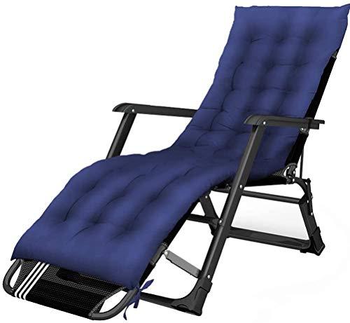 縦断勾配 Tumbonas Jardin Exterior Tumbonas Plegables Sillas de Patio reclinables Zero Gravity con cojín Acolchado