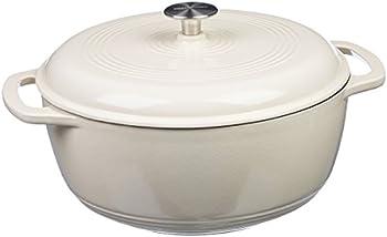 Amazon Basics 4.3 Quart Cast Iron Dutch Oven