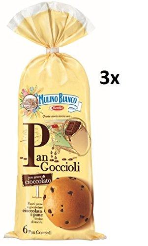 18X Mulino Bianco Torta Pan goccioli pane con cioccolato Briosche 756gr biscotti