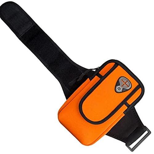 Froiny Deportes Bolso Brazo Universal Corrientes De Los Deportes del Brazal De Reproducción Impermeable Brazo Porta Móvil Teclas del Teléfono Bolsa De La Naranja