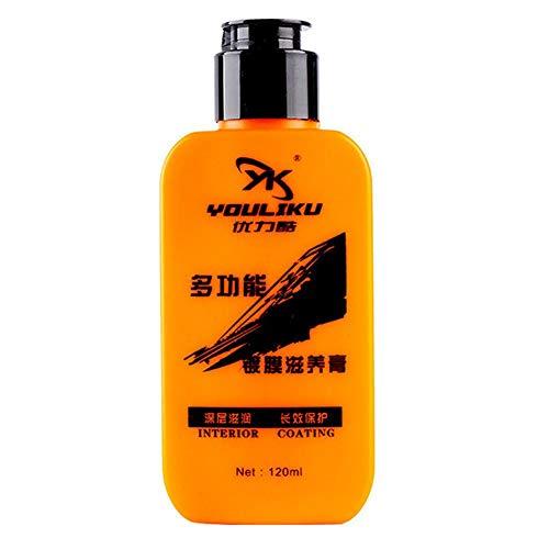 Limpiador y acondicionador de cuero para coche para el cuidado de la pasta de revestimiento renovado de cuero