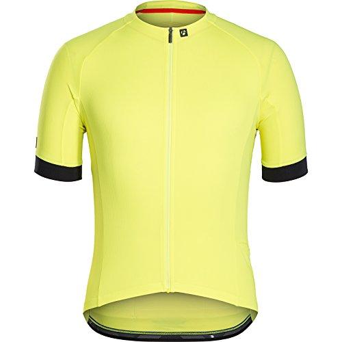 Bontrager Circuit Fahrrad Trikot kurz gelb 2021: Größe: L (50/52)