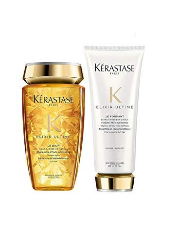 Kit Shampoo e Condicionador Kérastase Elixir Ultime Pequeno