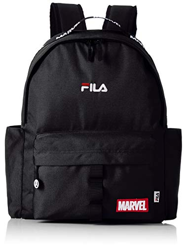 [フィラ] FILA MARVEL フィラ マーベル レディース メンズ リュックサック ロゴ 大容量 ブランド リュック ブラック