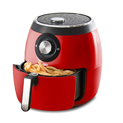 Dash Deluxe 6-Quart 1,700W Electric Air Fryer & Oven Cooker, 2 Colors - $79.99