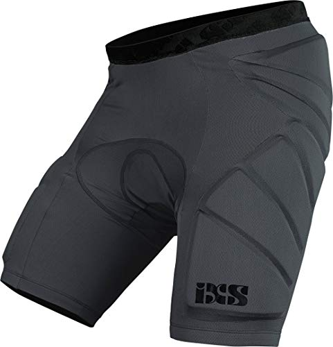 IXS Sports Division Hack Shorts Lower Body Protective Protektoren, Grey, XS