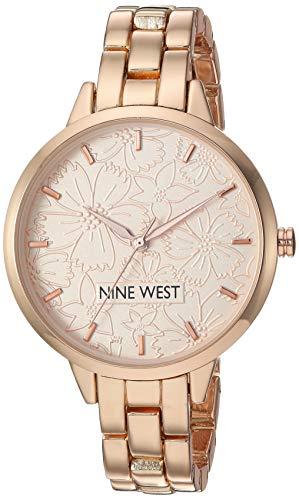 Nine West Reloj de Vestir NW/2226RGRG