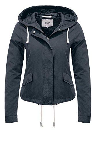 ONLY Damen onlSKYLAR Parka Jacket CC OTW Jacke, Blau (Night Sky), 38 (Herstellergröße: M)