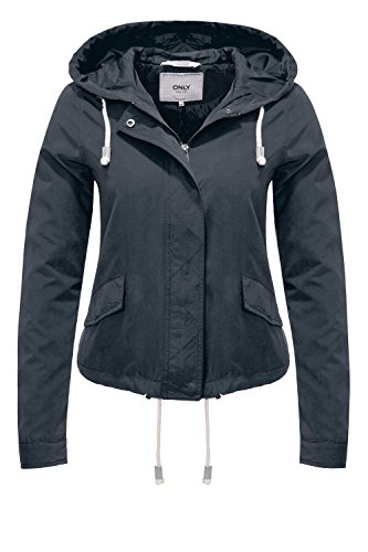 ONLY Damen onlSKYLAR Parka Jacket CC OTW Jacke, Blau (Night Sky), 40 (Herstellergröße: L)