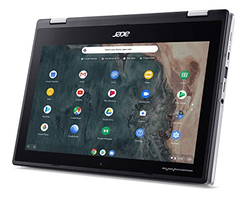 Product Image 8: Acer Chromebook Spin 311 Convertible Laptop, Intel Celeron N4020, 11.6″ HD Touch, 4GB LPDDR4, 32GB eMMC, Gigabit Wi-Fi 5, Bluetooth 5.0, Google Chrome, CP311-2H-C679
