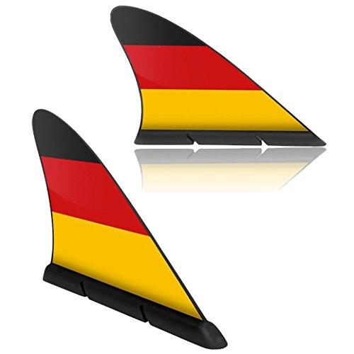 FANFLOSSE Deutschland Fanflosse Querstreifen