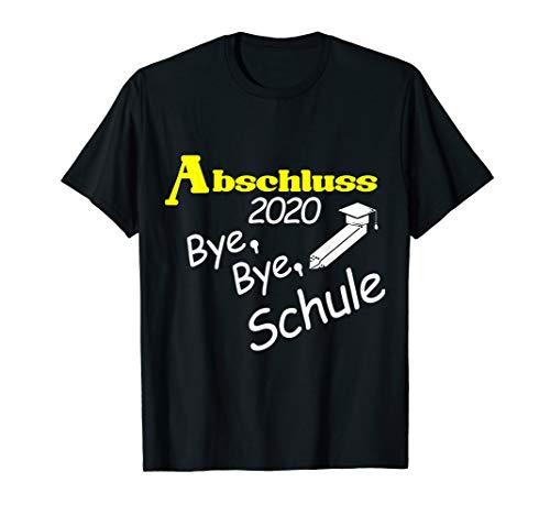 Abschluss 2020 Schulabschluss Abitur Realschule Hauptschule T-Shirt