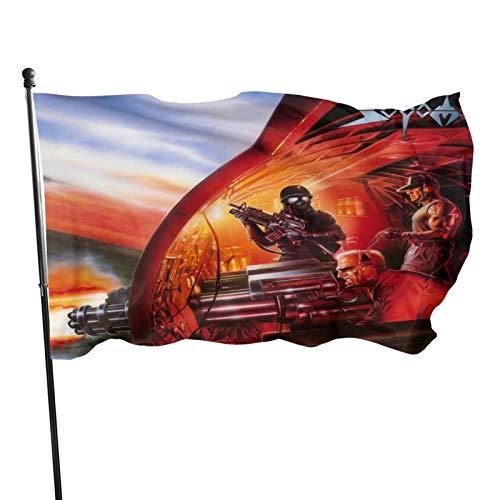 Sodom Fahnen Flagge Flag Banner Polyester Material Gartenbalkon Gartendekoration Im Freien 90x150cm