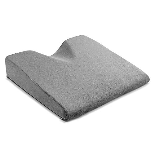 ComfySure Car Seat Wedge Pillow - Memory Foam Firm Cushion -...