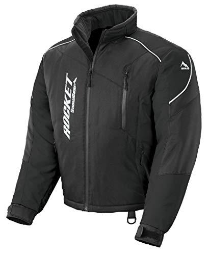 Joe Rocket 1918-055 Men's Snowgear Storm XC Jacket (Black/Black, X-Large)