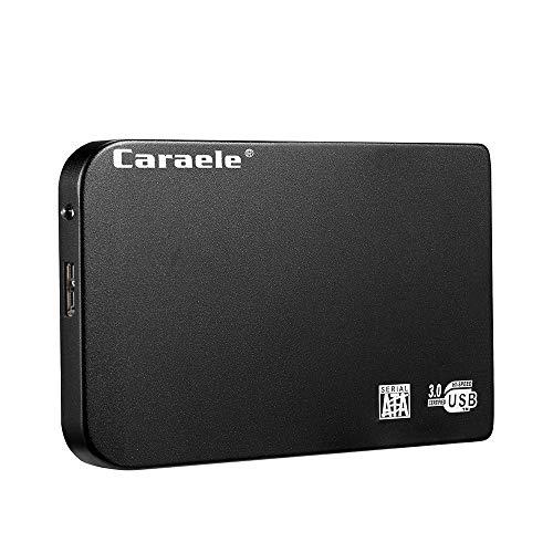 XIANGHUI Portable Unidad de Disco Duro Externa de 500GB/1TB/2TB, HDD, USB 3.0 para PC, Ordenador Portátil y Mac