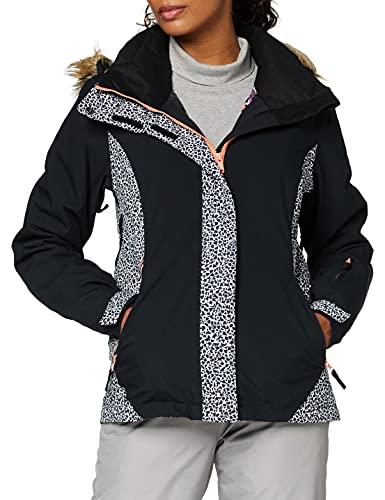 Roxy Jet Ski - Chaqueta Para Nieve Para Mujer Chaqueta Para Nieve, Mujer, true black pop animal, M