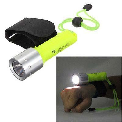 takestop® Torcia Subacquea Impermeabile LED 200-800 Lumen CREE Sub Luce Lampada