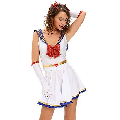 Anime Cosplay Dress Sailor Moon Costume Cheer Skirt fantasia adulto Uniforme Disfraces de...