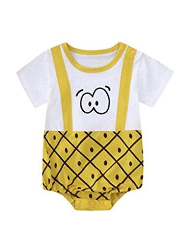 KAYLEY KAYLEY Baby Jungen (0-24 Monate) Regenhose gelb gelb 66cm(0-3M)