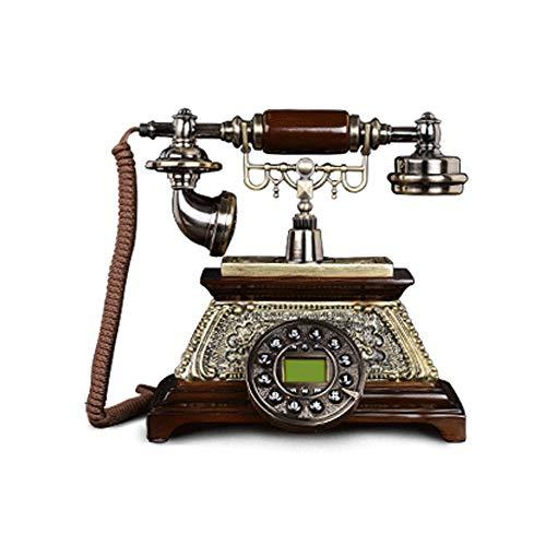 Sonido Antigua Teléfono Creativo Teléfono Fijo Tipo de Asiento Retro Antiguo Teléfono Fijo Antiguo Antiguo Fijo