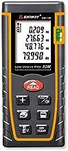 Sndway Laser Distance Measure Sw-T80 Digital Laser Rangefinder 80M Distance Meter Tape Measure Area Volume With Bubble Lev...